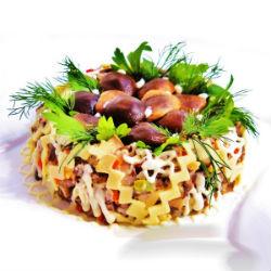 Вкусные салаты на праздник
